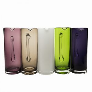COLOURED WATER JUGS
